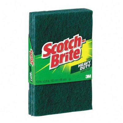scotch heavy duty scour pad